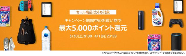 amazon ポイントアップキャンペーン